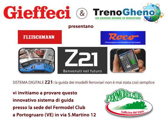 Presentazione centrale Z21 Roco Gieffeci
